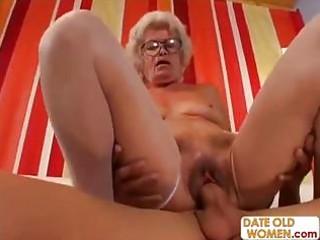 hirsute granny with glasses