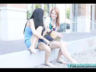 tamara and lacie models do smoke funny pont of